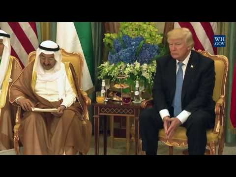 President Trump Participates in a Bilateral Meeting with the Amir of Kuwait