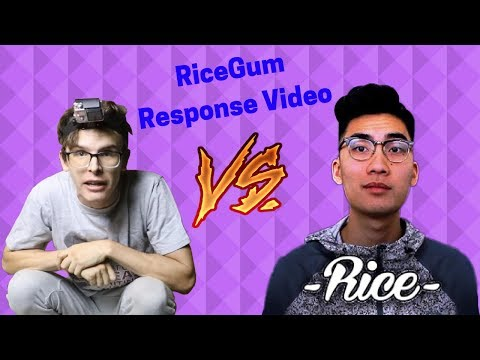 Thumbnail: Actually Made Valid Points! | RiceGums Response Video | Reaction