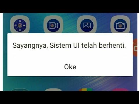 Cara Memperbaiki Android Eror System UI Telah Berhenti