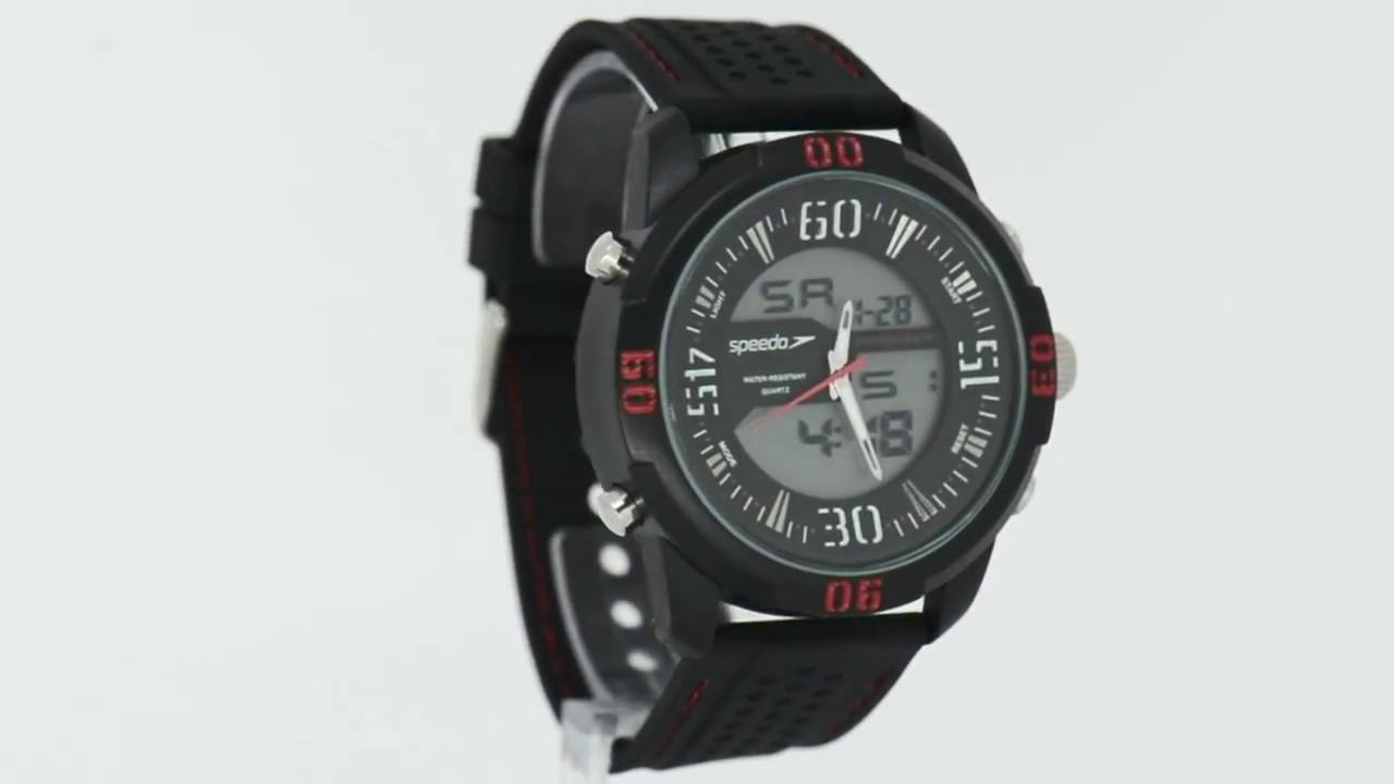 4de90f1186c Relógio Speedo Masculino 69015G0EVNV1 - Eclock - YouTube