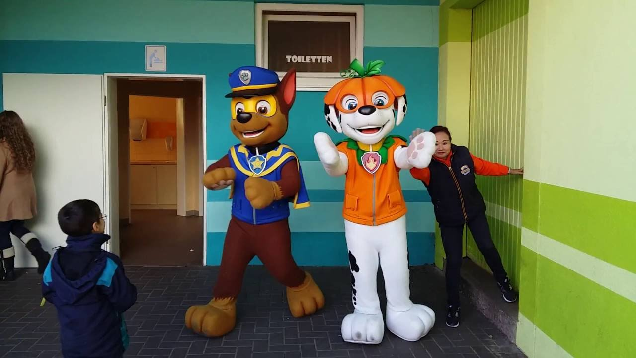 paw patrol meet and greet chase amp marshall after halloween