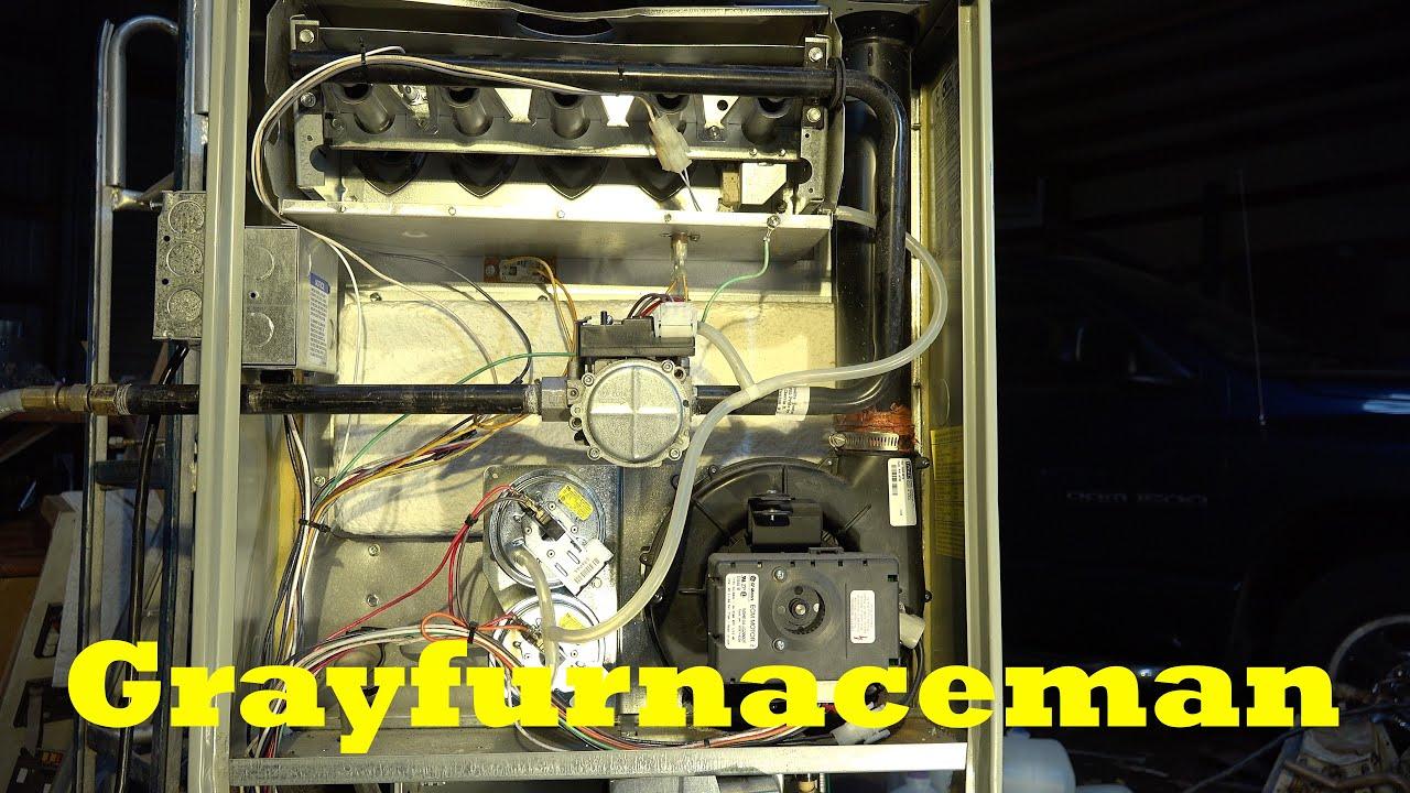 Fan speeds on the gas furnace IFC - YouTube