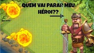 CLASH OF CLANS - QUE NÃO VAI DAR O QUE!! REI BARBARO NELES