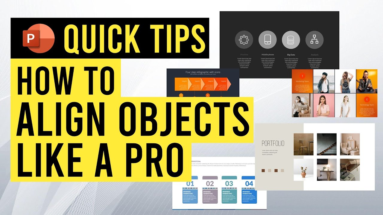 How to Align Objects like a Pro in PowerPoint {Beginner's Tutorial}
