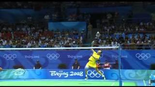 2008 Badminton Beijing Olympic Semi Final: Zhang Ning VS Maria Kristin Yulianti