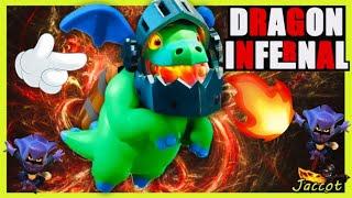 ¿Cómo Atacar con 🔥 DRAGON INFERNAL🔥  en Clash Of Clans? #12