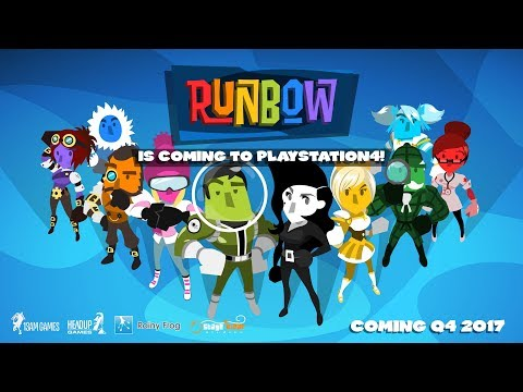 Runbow - PS4 Trailer