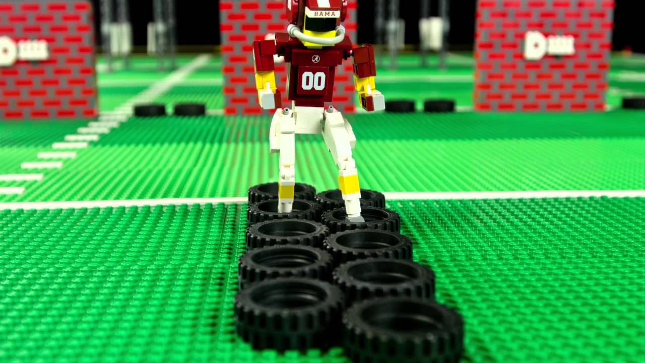 LEGO® & ESPN - Who's In? Road To The College Football ...