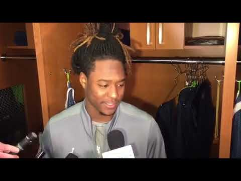 Seahawks cornerback Shaquill Griffin talks about facing future HOF receiver Larry Fitzgerald
