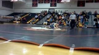 Drew phipps 185 against latrobe norwin wrestling