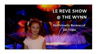 K-So Fun Kids in Vegas Pt 2 ~ Le Reve Show @ Wynn ~ Wynn Decorations ~ Chinese New Year