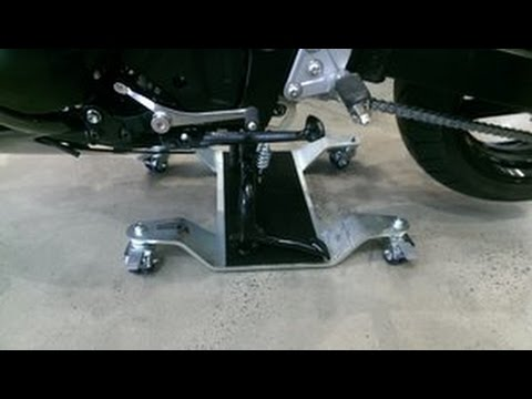 Motor Mover 300 - Bike Dolly Demonstration