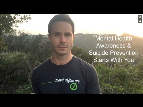 Mental Health Awareness & Suicide Prevention Starts With You