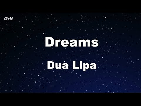 Dreams - Dua Lipa Karaoke 【No Guide Melody】 Instrumental