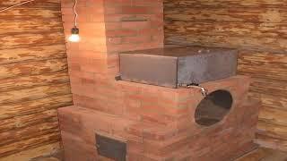 Кирпичная печь для бани своими руками: порядовка, раствор, устройство (видео)