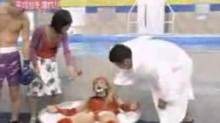 Японское шоу! Вода в бассейне - кипяток!.flv