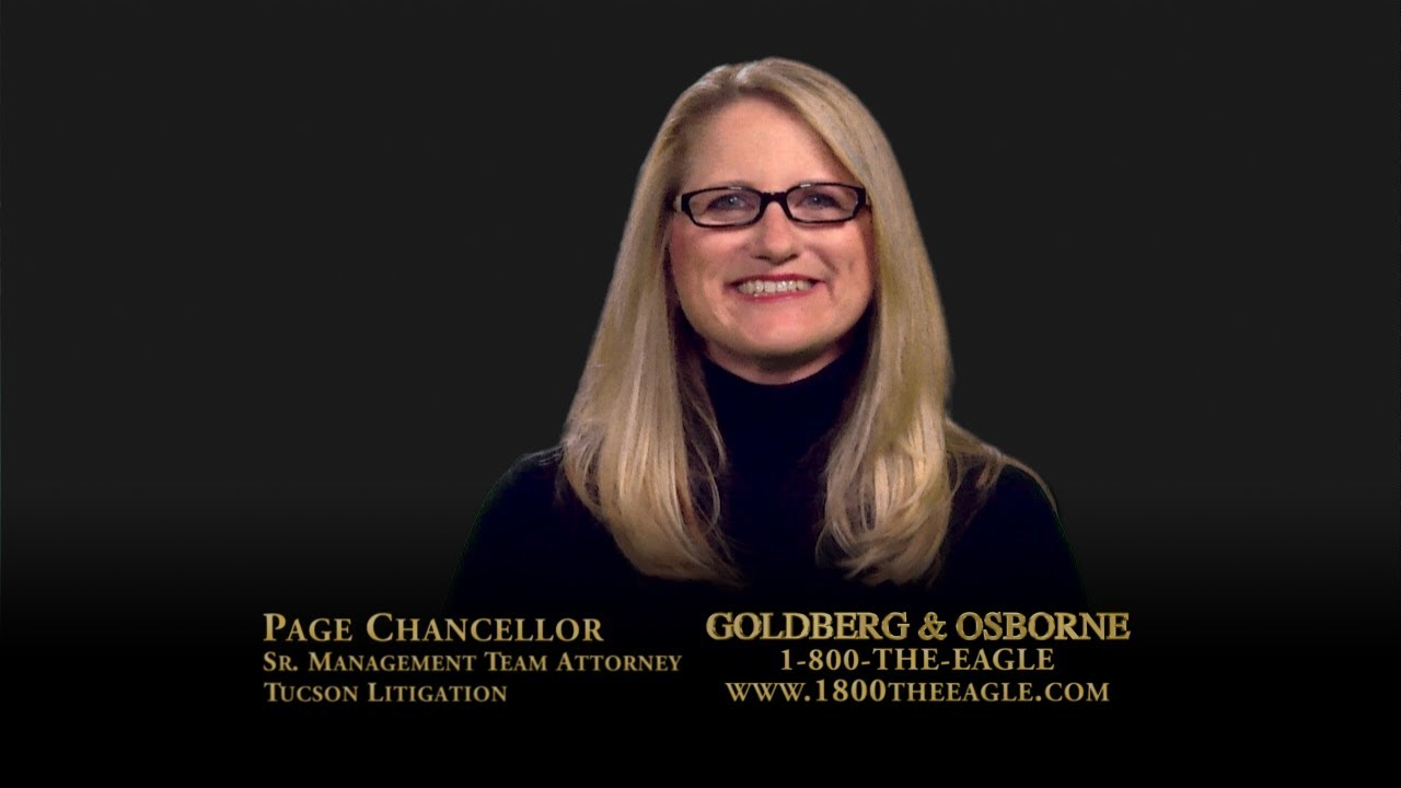 Personal Injury Lawyer Tucson >> Page Chancellor | Tucson Personal Injury Lawyer - YouTube
