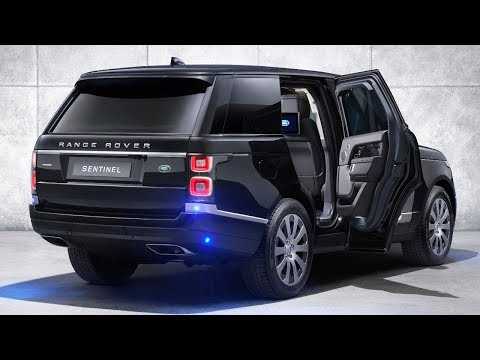 2020 Land Rover Range Rover Sentinel - Security Beneath the Surface