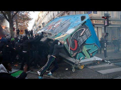 Массовые протесты во Франции. Коронавирус измучил граждан