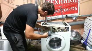 Як розібрати пральну машину SAMSUNG WF6450N7W