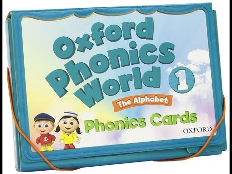 Oxford Phonics World 1 CD1 English for kids