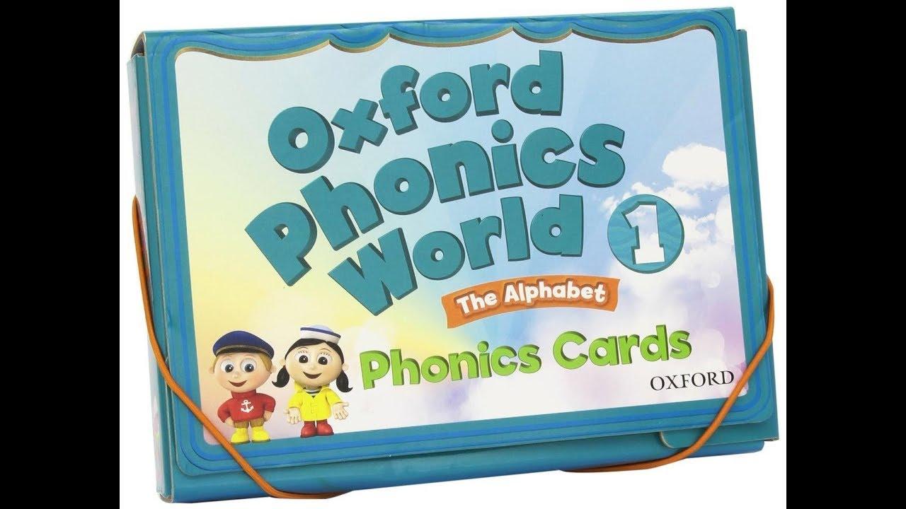 Download Oxford Phonics World 1 CD1 English for kids