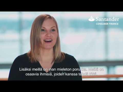 Mitä jos tulisit Santanderille töihin?