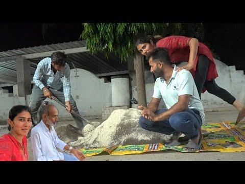 Kal Khet Me Puri Raat Kam Karna Pada Tufan Ke Saath Baris Ki Warning.#Nisarga Cyclone