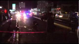 Mueren dos atropellados por Mexibús; no usan puente peatonal