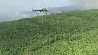 Правительство планирует выделить на тушение природных пожаров еще шесть миллиардов рублей.