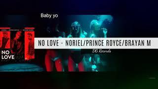 Noriel ft Prince Royce - No Love KARAOKE (Instrumntal + LETRA)