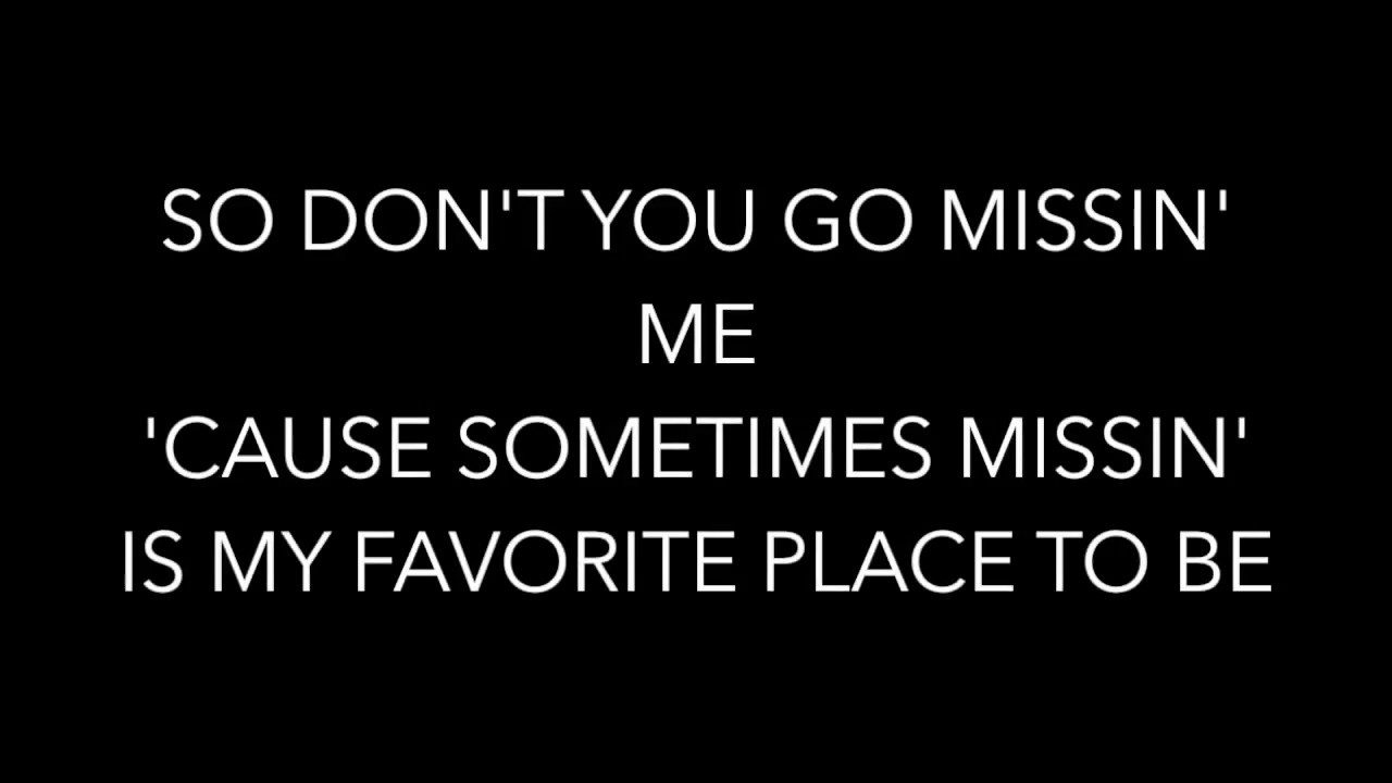 Missing By William Michael Morgan Lyrics Youtube
