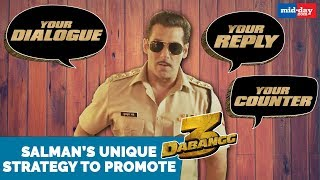 Salman Khan chose this unique strategy to promote Dabangg 3