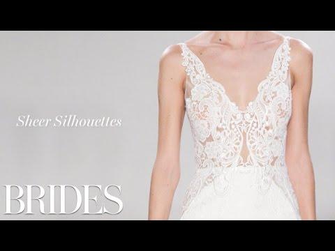 Fall 2016 Wedding Dress Trend: Sheer Silhouettes
