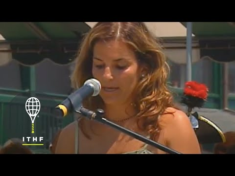 Arantxa Sanchez-Vicario - Hall of Fame Induction Speech - Class of ...