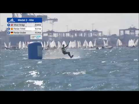 2016 Sailing World Cup Final Melbourne - Formula Kite Medal Race 2