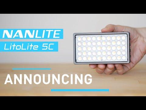 Nanlite Announces the NEW Litolite 5C