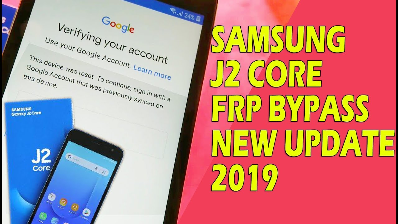 Samsung J2 Core Frp Bypass Without Pc