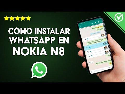 Cómo Descargar, Instalar y usar WhatsApp en un Nokia N8 Gratis