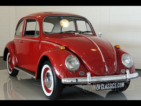 Vw Beetle 1300 1965 Old Model New Paint Interior Very Good Technics Video Www Erclics