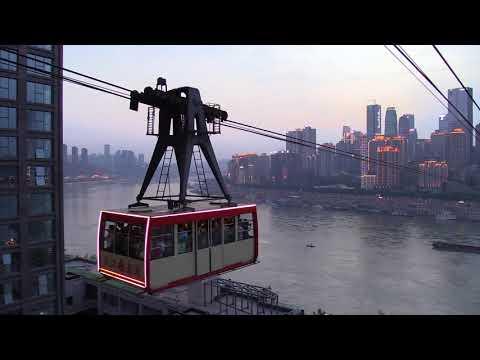 Chongqing Yangtze Ropeway - revisited