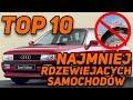 TOP 10 NAJMNIEJ RDZEWIEJĄCYCH SAMOCHODÓW !!!