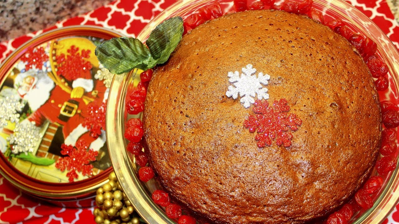 Kerala Plum Cake With Wine