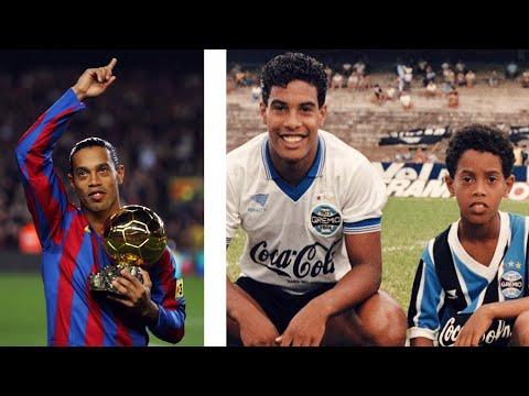 A rejtélyes személy Ronaldinho sikerei mögött😱 thumbnail
