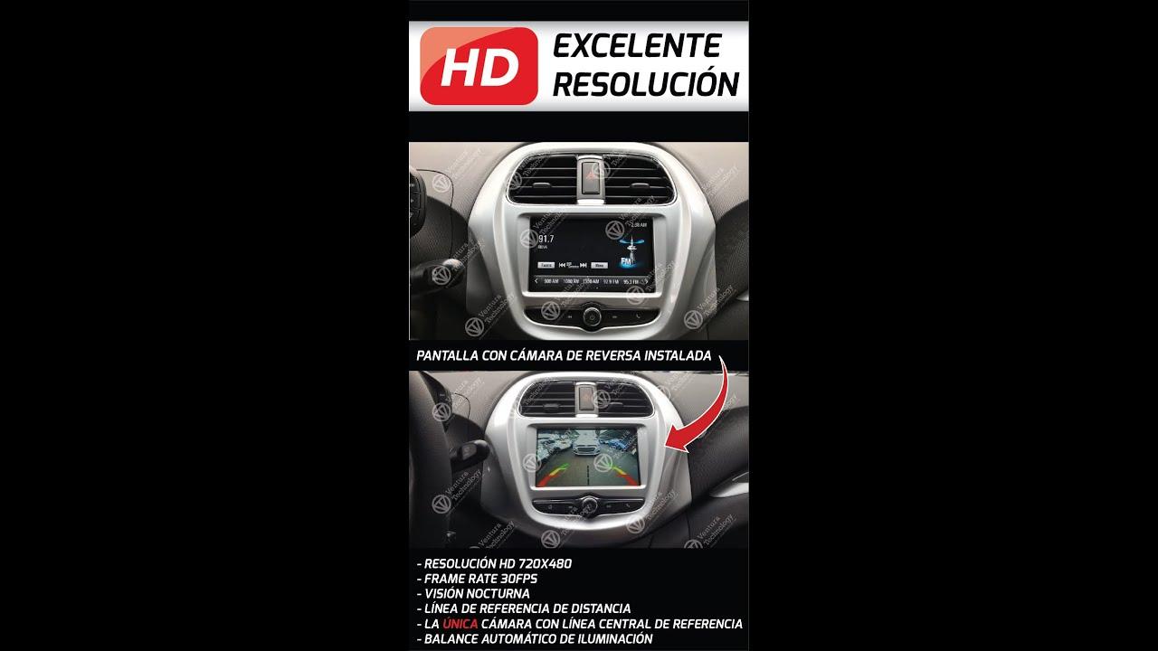 Demostración de cámara reversa para Chevrolet Beat trax ...