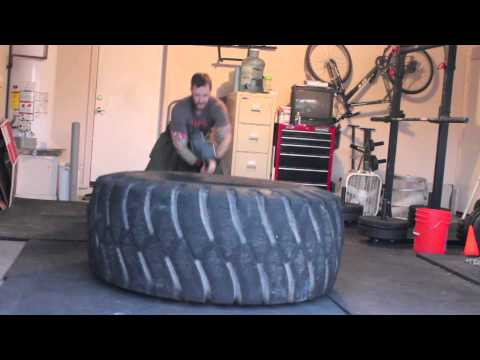 Kilt Workouts Tire Flips