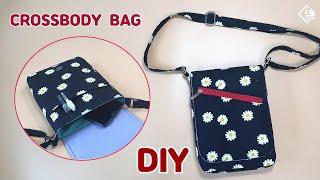 DIY Cute crossbody bag / Mini messenger bag / sewing tutorial [Tendersmile Handmade]