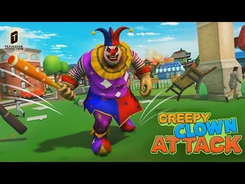 Creepy Clown Attack - Android Gameplay HD