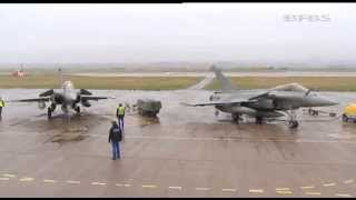 UK Fighter Jets Team Up With French Allies for Mock Battles 19.04.13