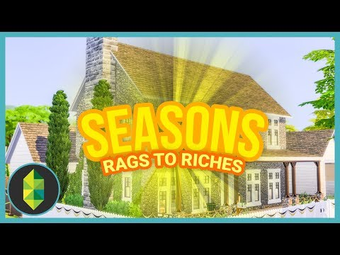 HOUSE RENOVATION - Rags to Riches (Sims 4 Seasons)  